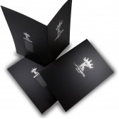 Silver Stamping A4 Presentation Folders