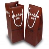 Bolsas de papel porta botellas estándar