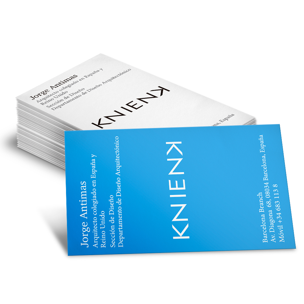 format Business Cards