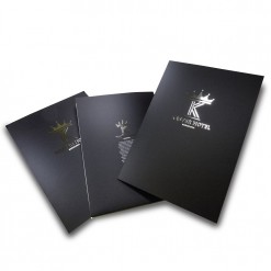 Silver Stamping A4 Presentation Folders single sided