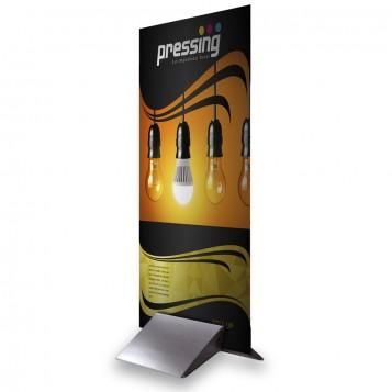 Gráfica Pegasus + Peana Aluminio 100x200