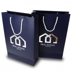Silver Stamping Paper bags