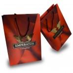 Bolsas de papel con Stamping Oro