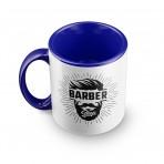 Blue deluxe custom Mug