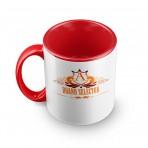 Red deluxe custom Mug