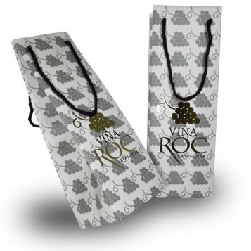 Bolsas Porta Botellas con Stamping Oro