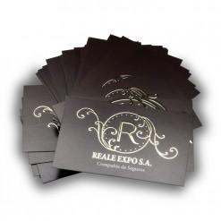 Tarjetas de visita con Stamping Holográfico 1 cara
