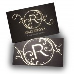 Holographic Stamping Business cards double sided