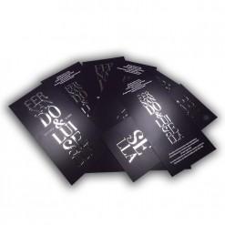 Invitación de Boda 1021 con Stamping Plata 2 caras