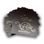 Tarjetas de visita con Stamping Oro 1 cara
